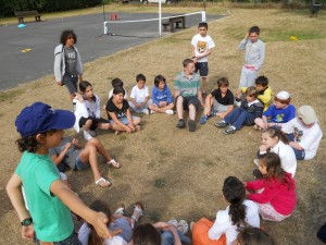 Children's activities during the summer holidays